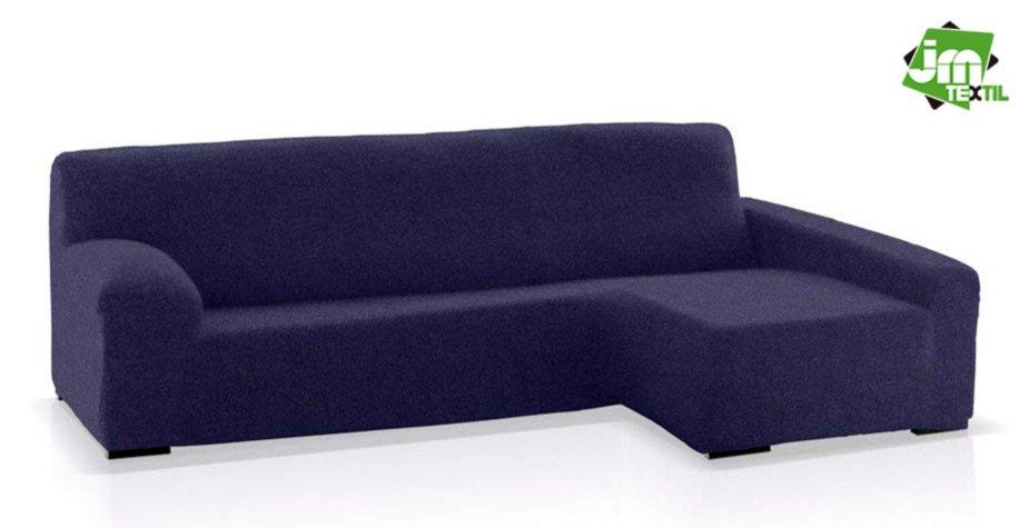 funda chaisel ongue jm-textil azul