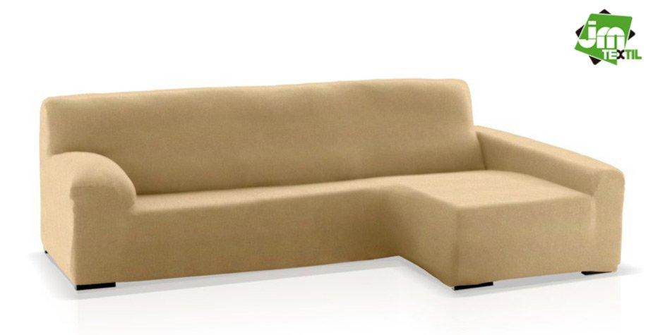 funda chaisel ongue jm-textil beige