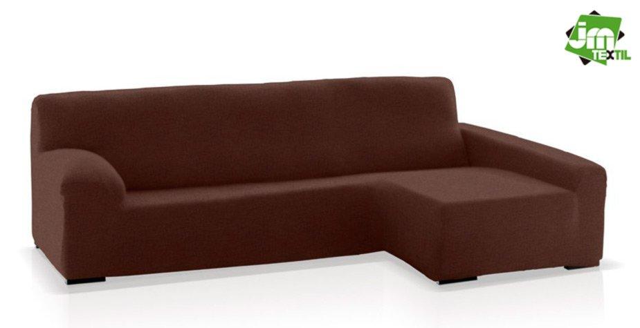 funda chaise longue jm-textil marrón