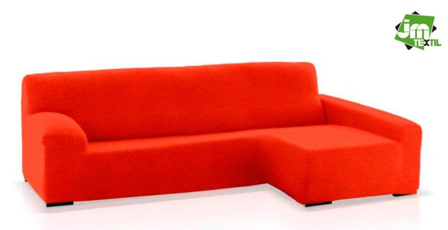 funda chaise longue jm-textil rojo