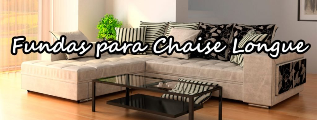 fundas para sofa chaise longue